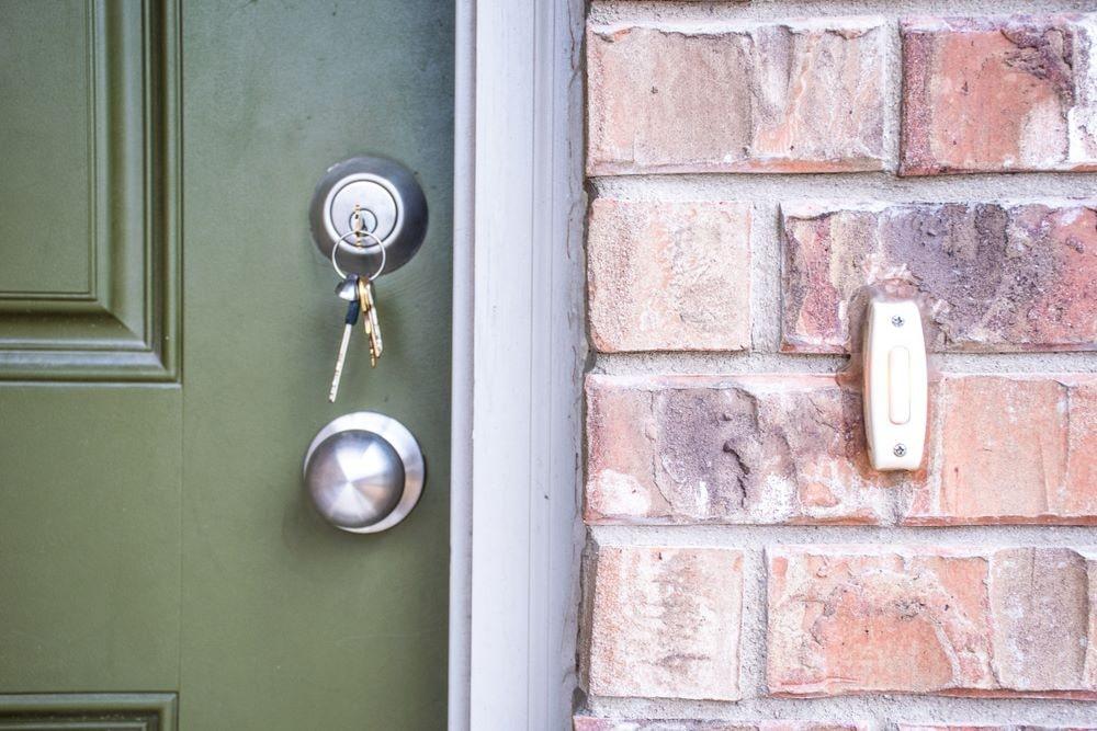 How to Repair Outside Door Frame